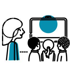 illustrations_Educator observing
